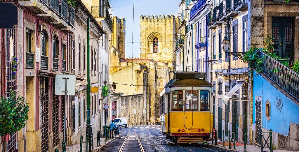 Utiliza el tranvía para moverte por Lisboa