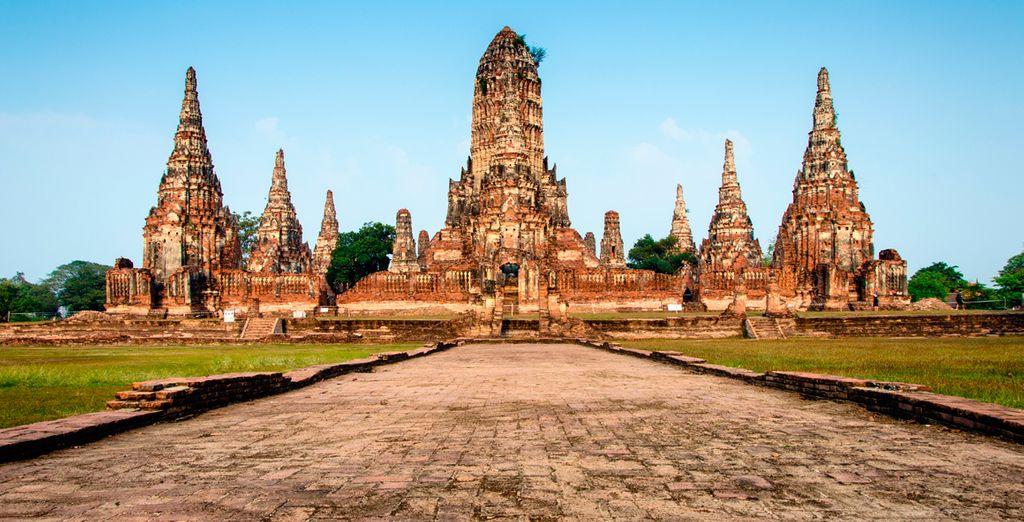 Ayutthaya, a camino entre China, India y Malasia, era un enclave perfecto para el comercio