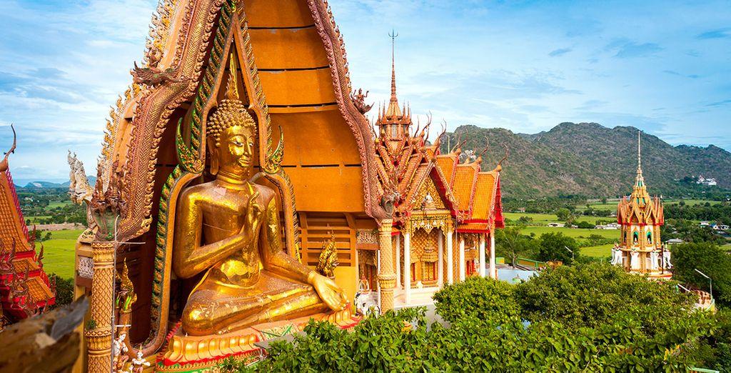 El Gran Budha de Kanchanaburi te dejará sin habla