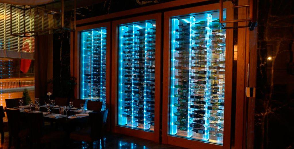 En el Steak N Más Istan'bull Pera podrás disfrutar de su exclusiva selección de vinos