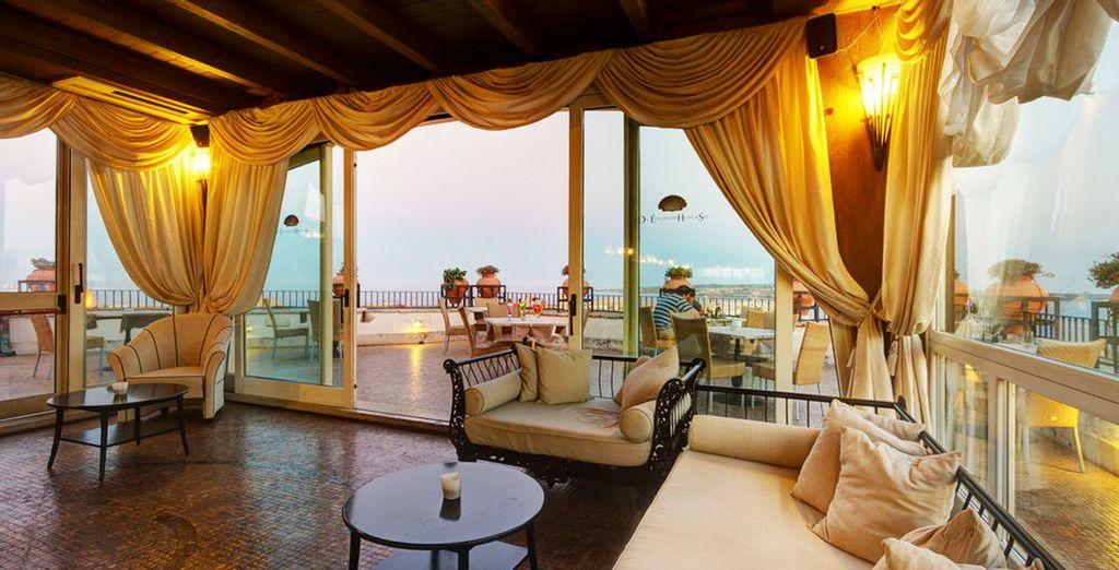 Con la elegancia y el estilo típico de los grandes hoteles europeos