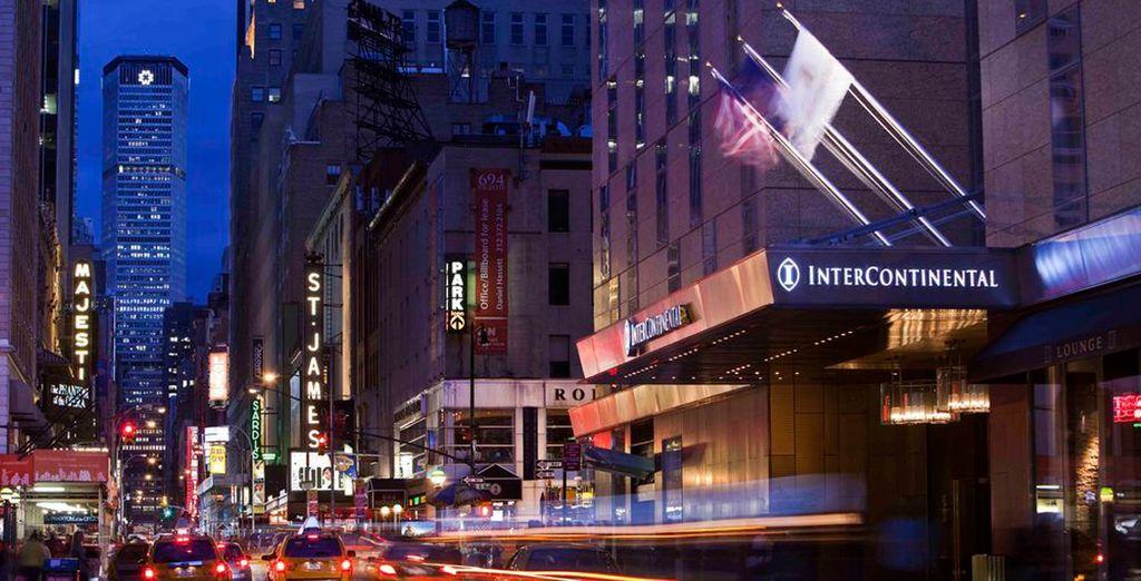 Te presentamos el Hotel Intercontinental Times Square