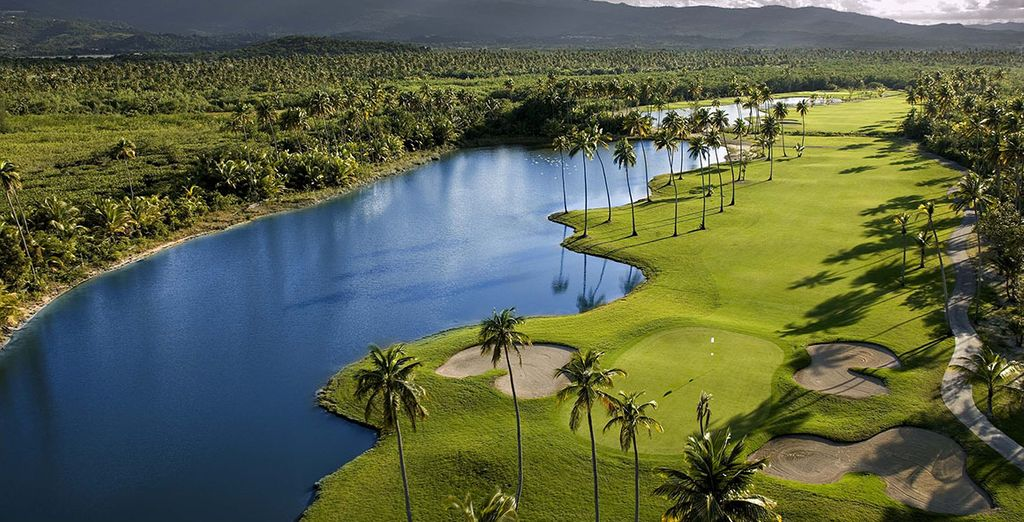 Puedes hacer una partida rápida de golf cuando quieras