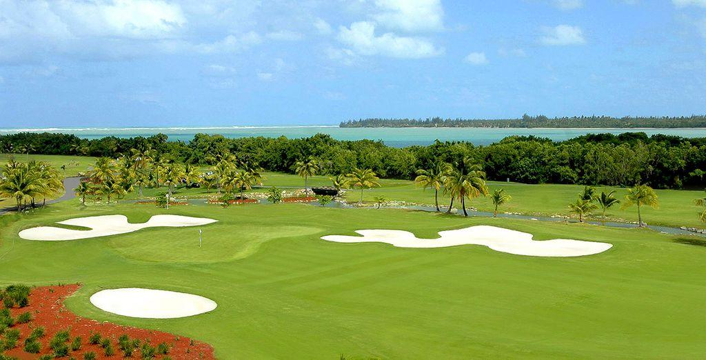Disfruta de privilegios exclusivos en dos excelentes campos de golf de 18 hoyos diseñados por Tom Kite