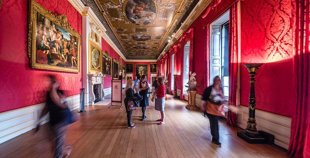 Una oportunidad especial para conocer los entresijos de este bello palacio