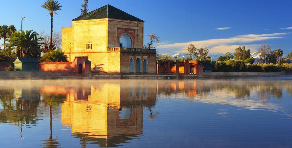 Visita mezquitas y los zocos típicos de la zona