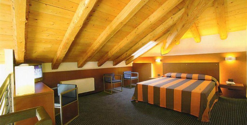 Descansa en tu magnífica y amplia Junior Suite