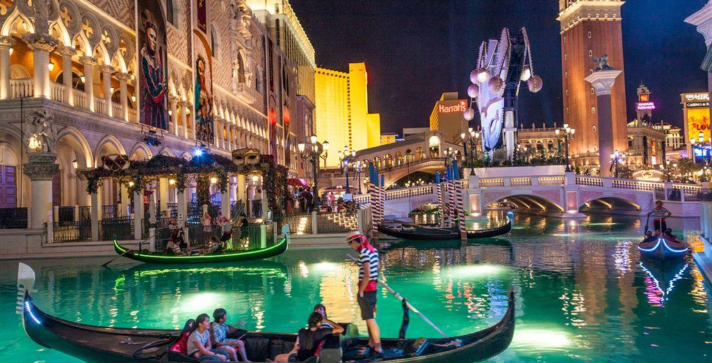 Todas las extravagancias que habías imaginado se encuentran en Las Vegas