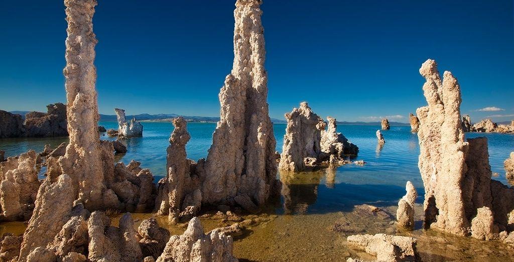 Contempla el increíble paisaje de Mono Lake
