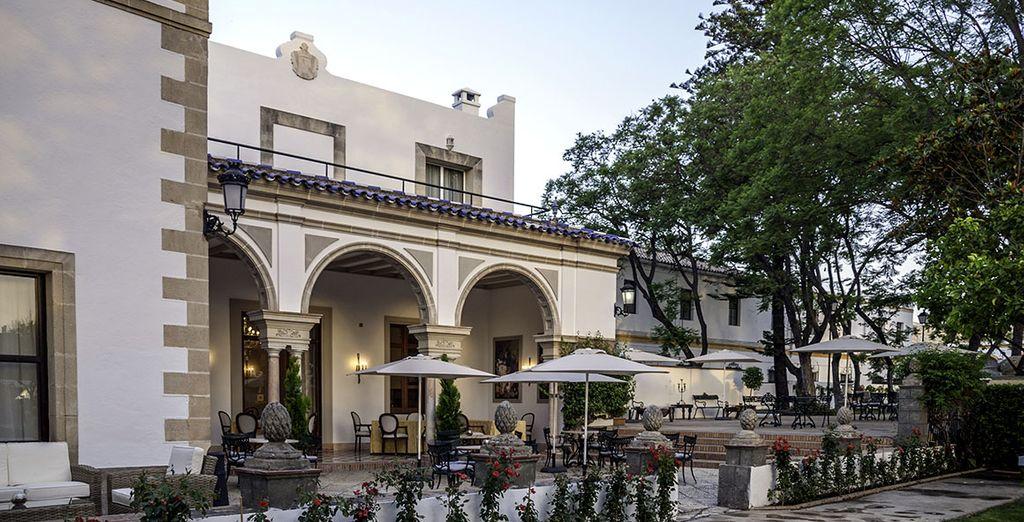 Un elegante palacio restaurado