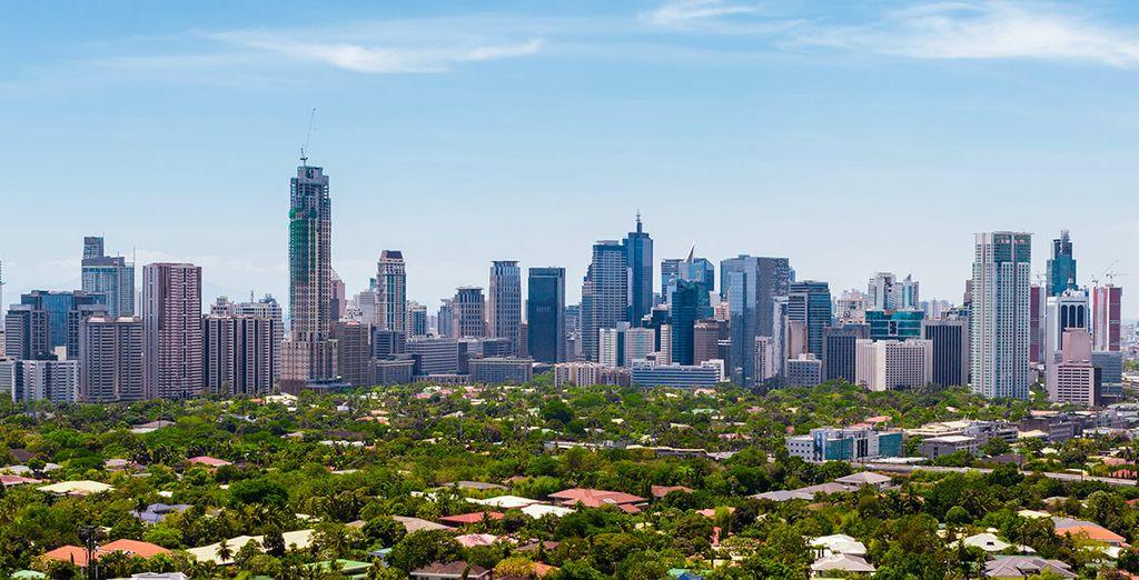 Una aventura que comienza en Manila, capital de Filipinas