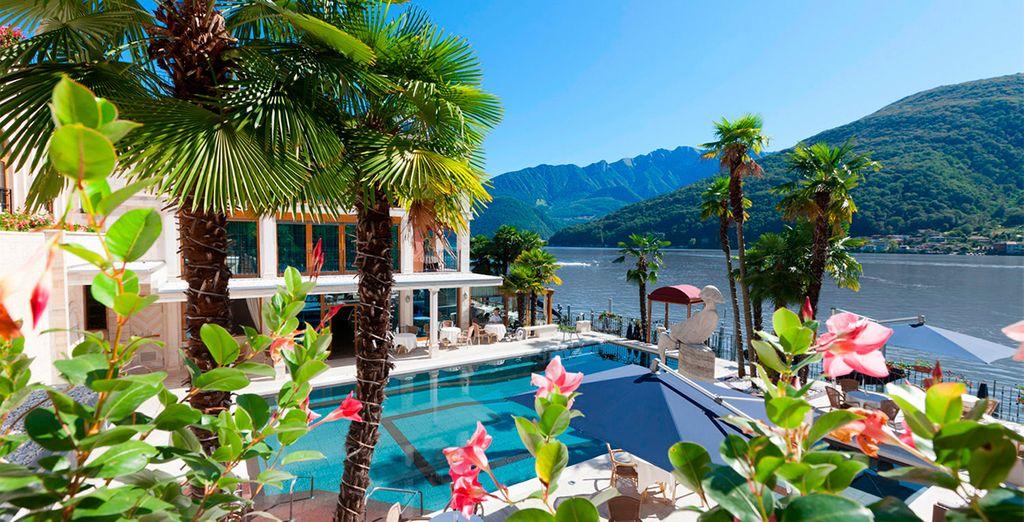 Disfruta de un clima mediterráneo en las instalaciones del hotel
