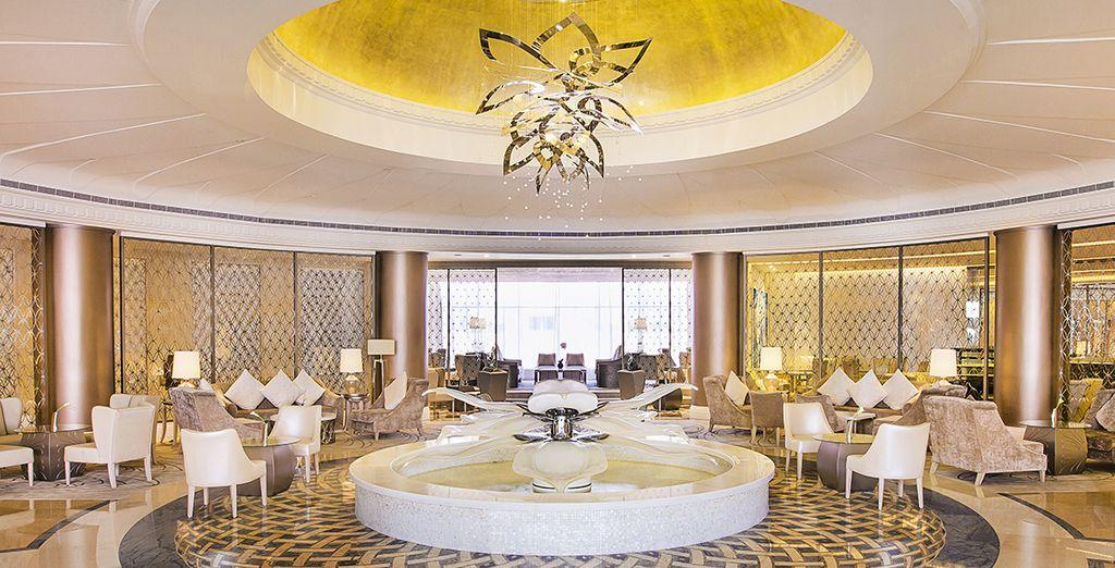 Espacios llenos de lujo te esperan en la ciudad emiratí