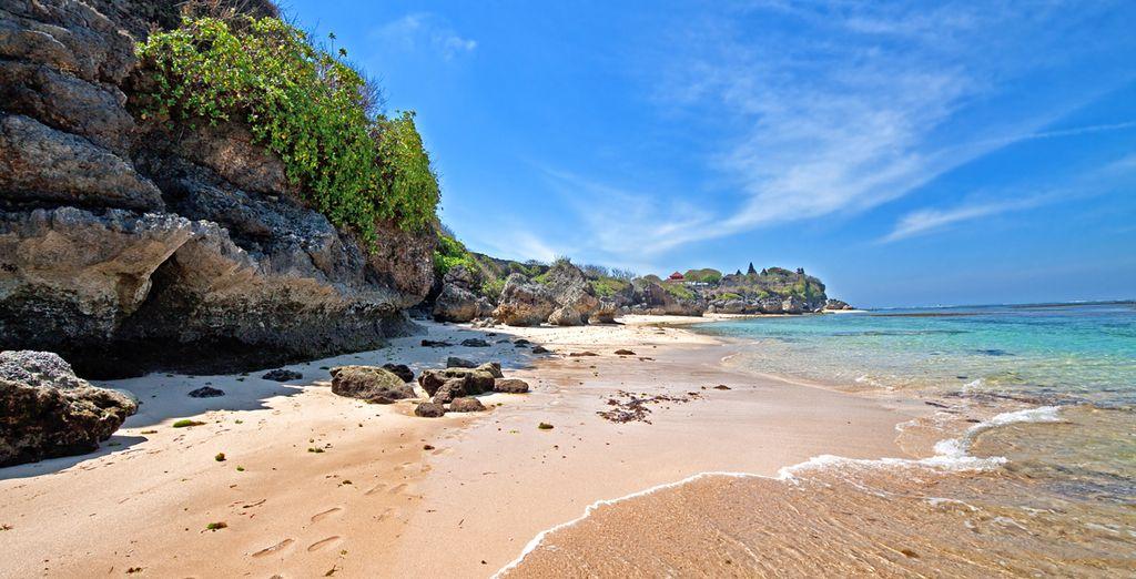 En Nusa Dua se encuentran las mejores playas de Bali