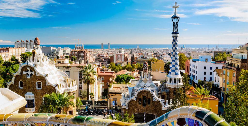 Disfruta de la belleza de Barcelona