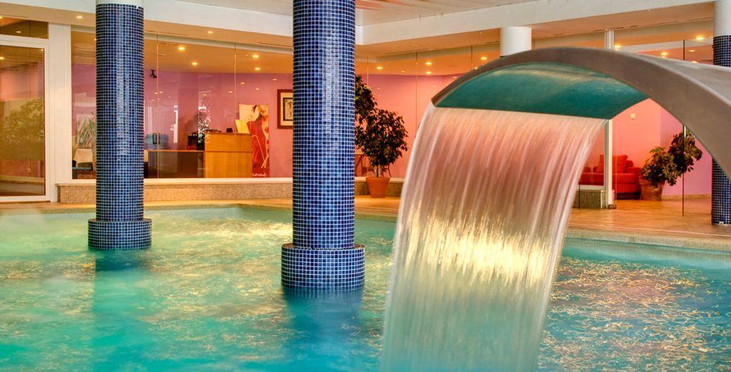 El centro Spa & Wellness ofrece una selecta carta de tratamientos de belleza y salud