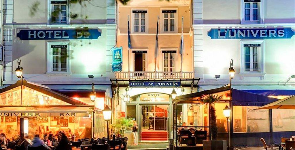 Hotel de l'Univers 3*, será tu hotel en Saint-Malo