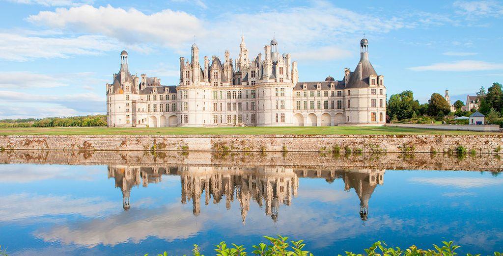 Chambord, castillo que nos abre la puerta del Valle y que nació de un sueño de Francisco I, rey de Francia