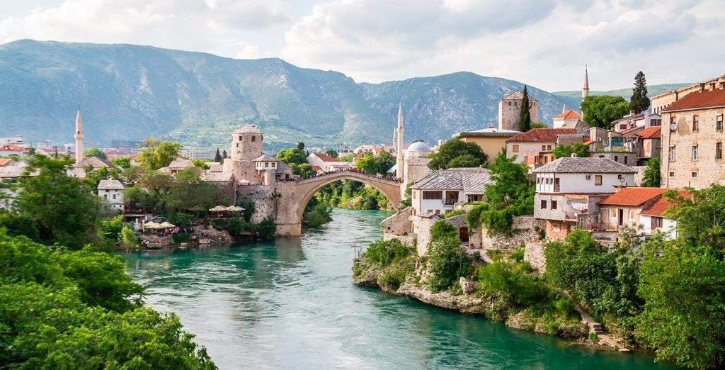 Visitarás Mostar, en Bosnia-Herzegovina
