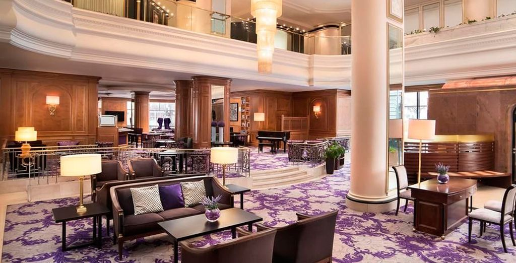 Te alojarás en el Sheraton Zagreb Hotel