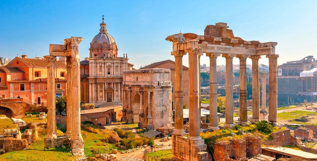 Te enamorarás de Roma, una ciudad repleta de historia