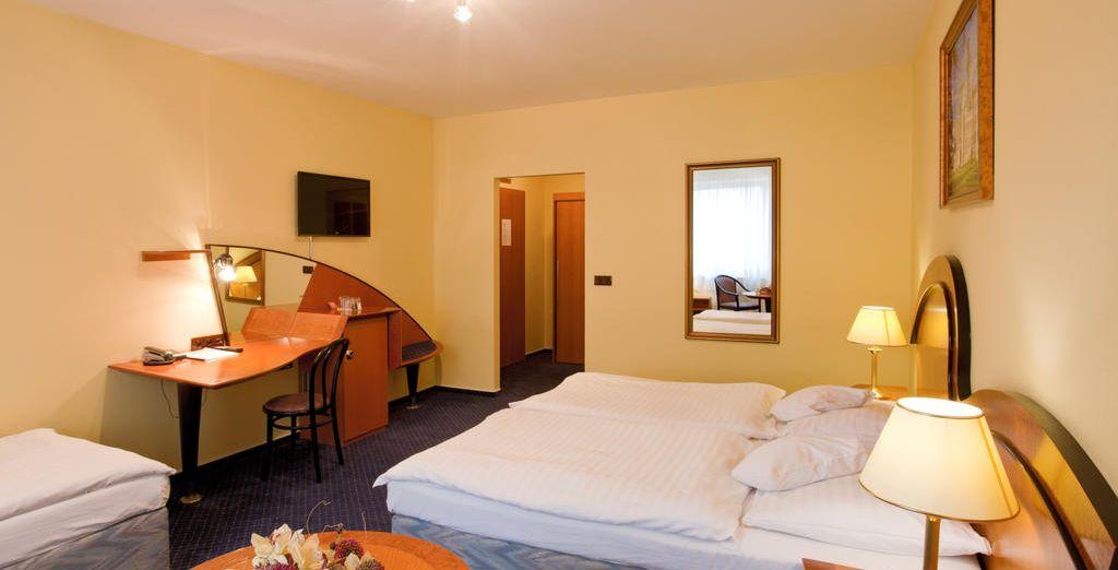 Descansarás en el hotel Hotel Savoy 4*