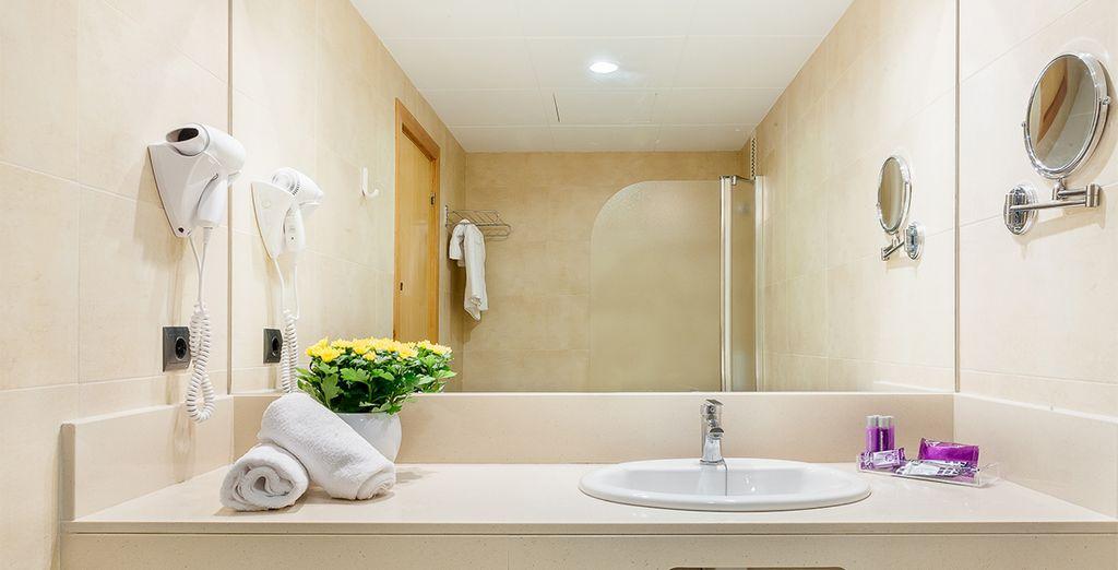 Totalmente equipadas con baño propio