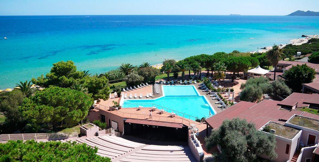 Bienvenido al Free Beach Club Hotel de Cerdeña