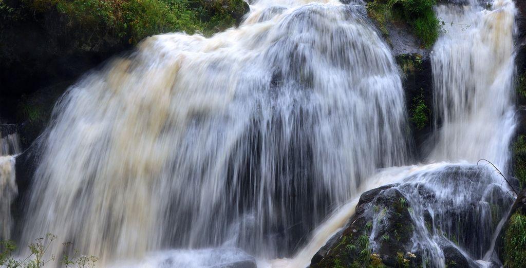 Maravillosas Cataratas de Triberg