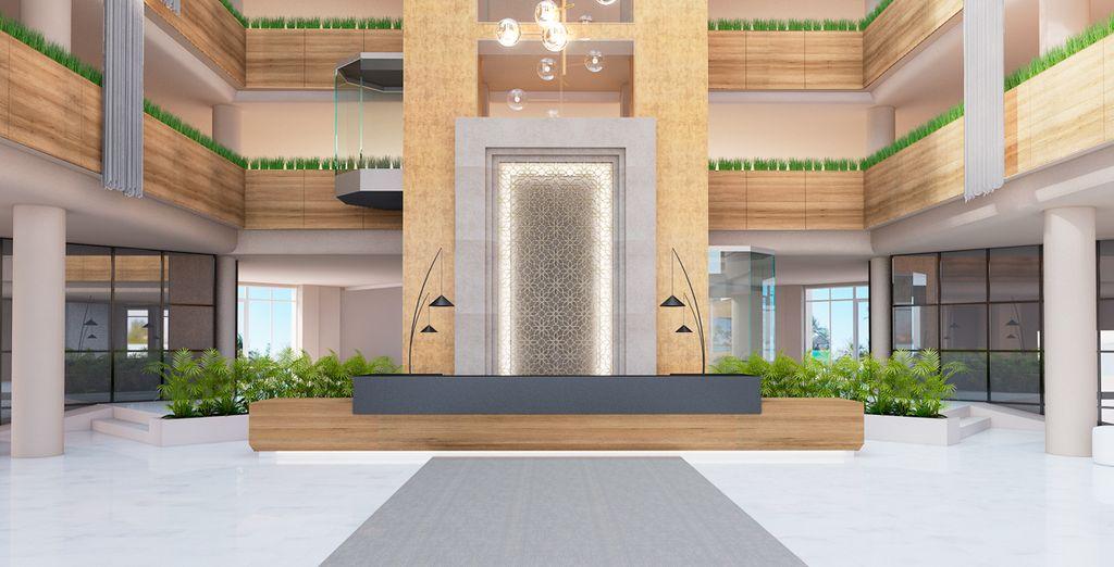 ... es un hotel lleno de clase, elegancia y diseño