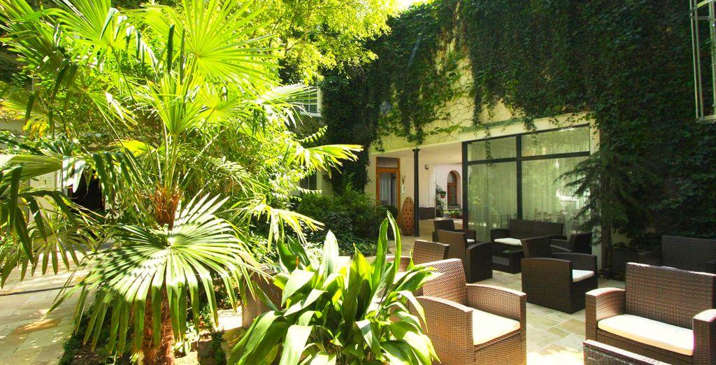 Un hotel ecólogico de gestión familiar