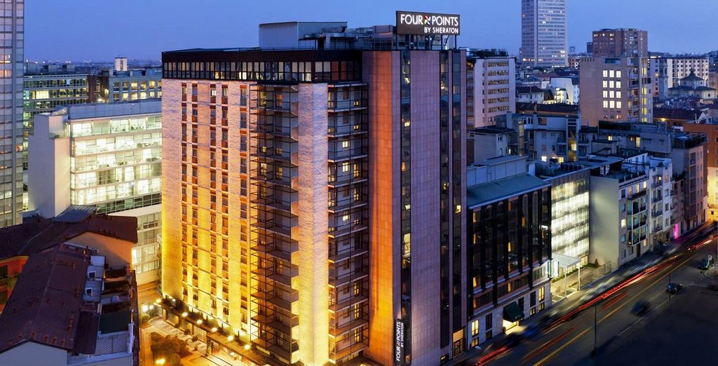 Alójate en Four Points Sheraton Milan Center 4*