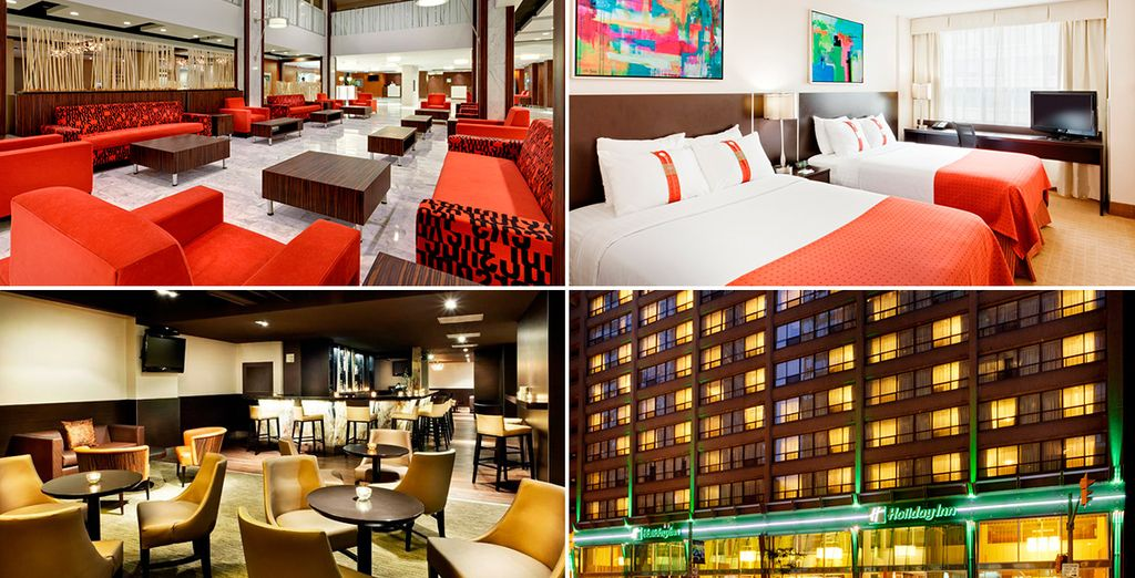 Tu alojamiento será el Holiday Inn Toronto Downtown Centre 3*