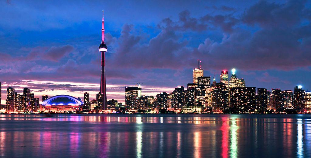 Comienza tu viaje en Toronto, una ciudad llena de energía
