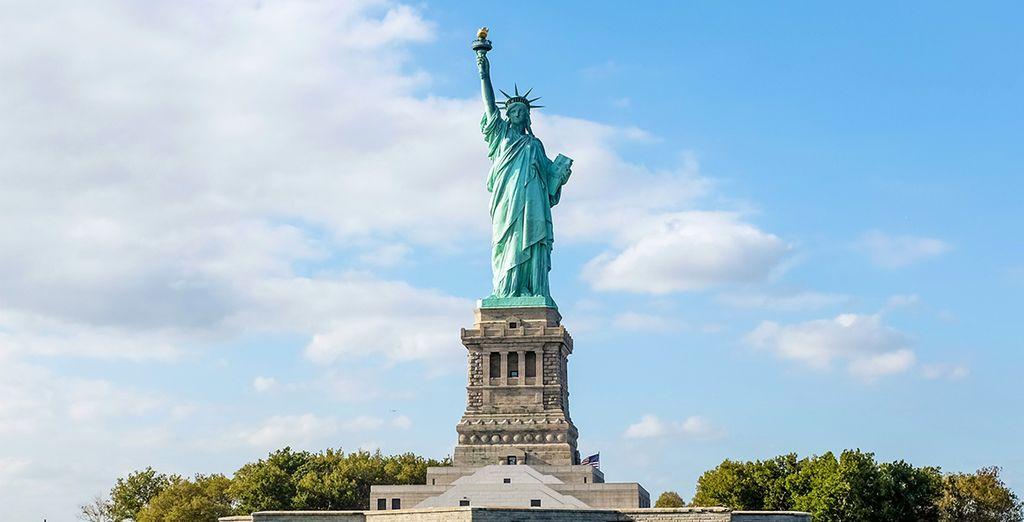 La Estatua de la Libertad, uno de los grandes símbolos de Nueva York