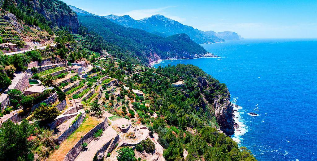 Mallorca dispone de panorámicas sorprendentes como las de Tramontana