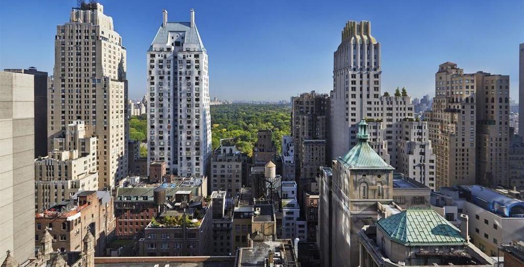 Tu hotel se encuentra a pocos minutos de Central Park