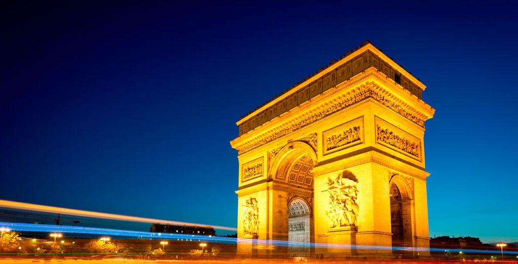 El mítico Arco del triunfo