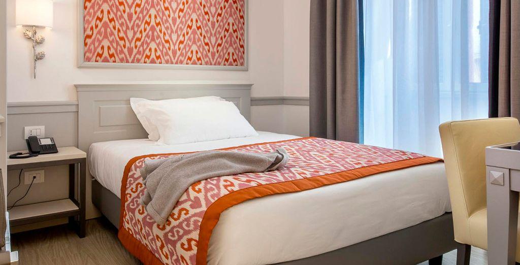 Una habitación donde conviven confort y diseño