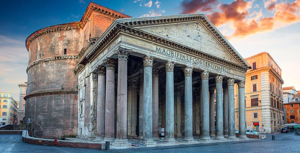 Visita el Panteón de Agripa