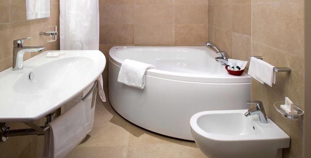 Baños equipados para tu bienestar