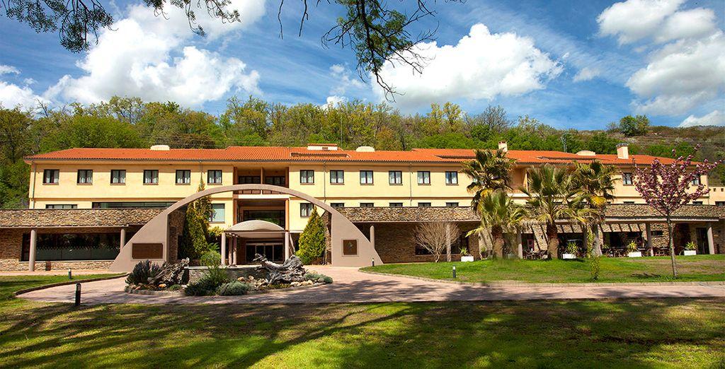 Bienvenido al hotel Balneario Valle del Jerte 4*
