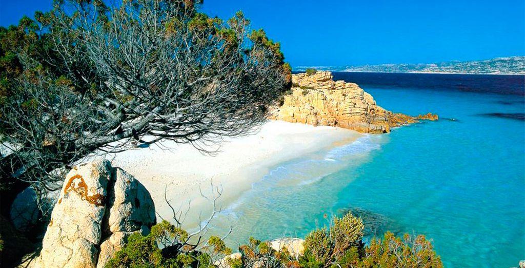 La Maddalena, conocida por sus bonitas playas