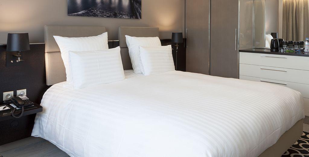 Descansarás en una habitación Superior muy confortable ...