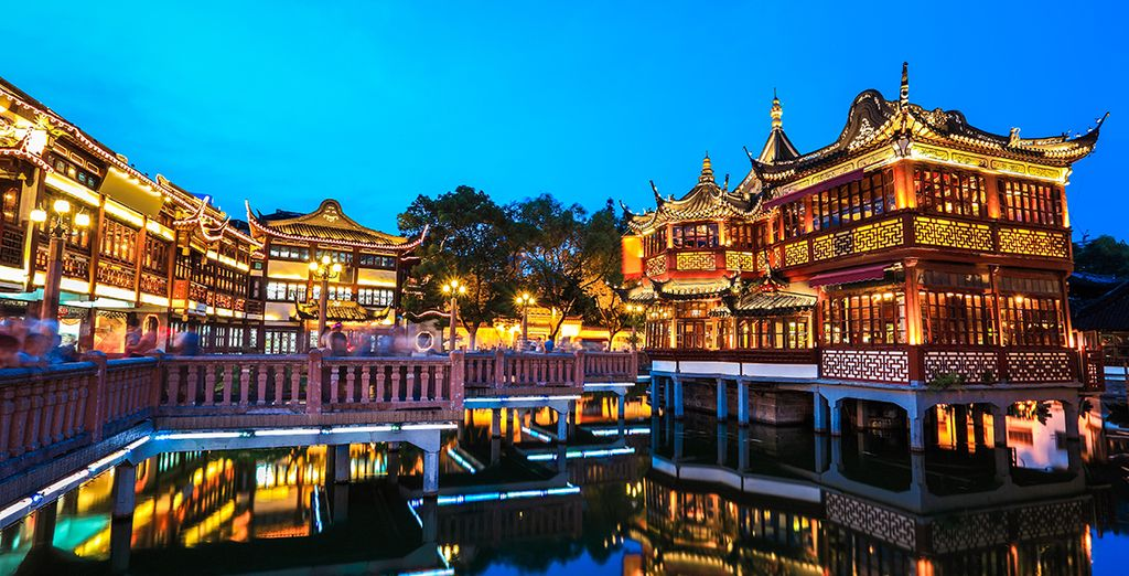 El espectacular Yuyuan Garden de Shanghai