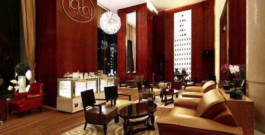 O en el Eton Hotel Shanghai 5*