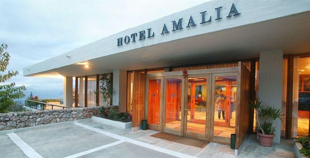 Alojamiento en Amalia hotel Delphi 4*