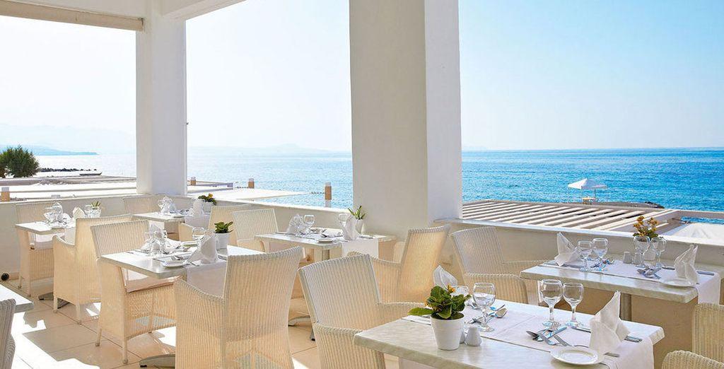 Disfruta para recrearte en el sabor del Mediterráneo