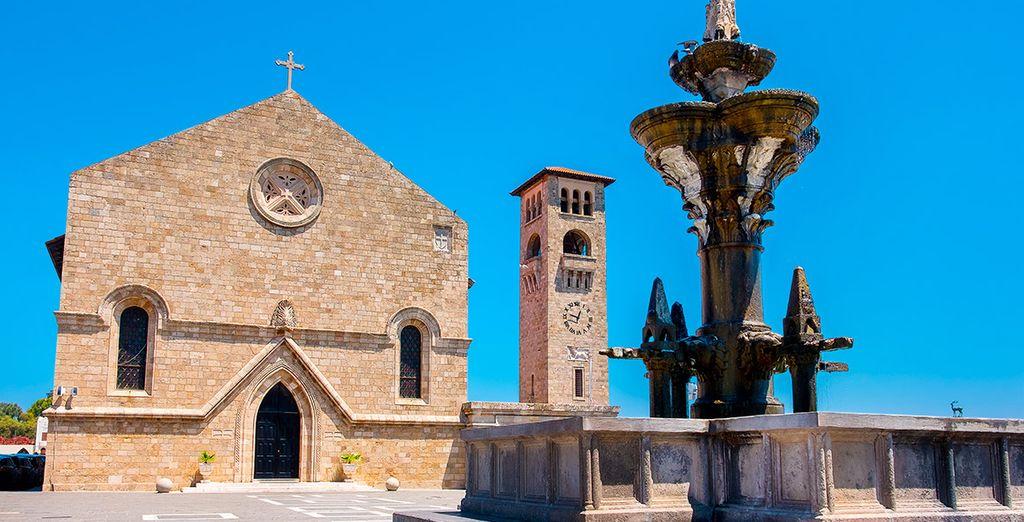 Descubre Rodas, capital de las Islas del Dodecaneso