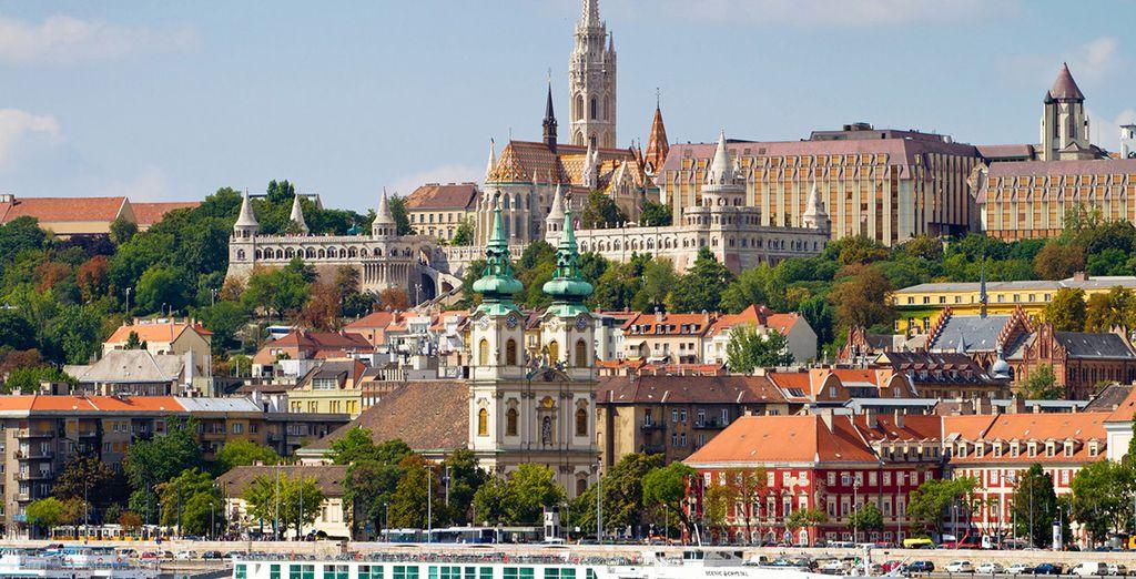 Tu última parada, Budapest, una de las joyas del Danubio